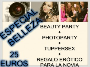 DESPEDIDAS DE SOLTERA EN SALAMANCA, BEAUTY PARTY EN SALAMANCA